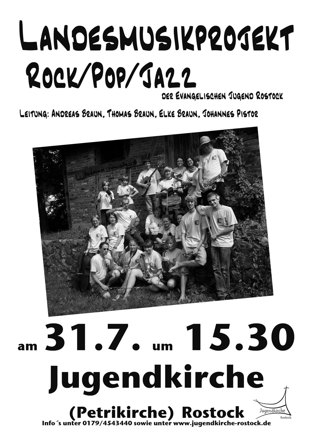 Rock-, Pop- und Jazzkonzert 31.07.11 15.30