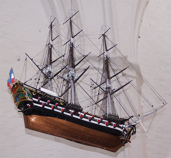 Schiffsmodell, Gewisheit PeterKraeft 1769