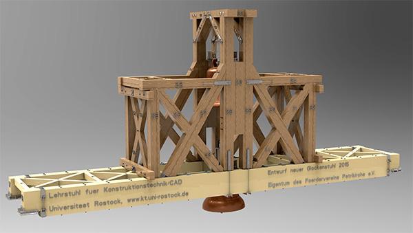 Nördlicher Glockenstuhl